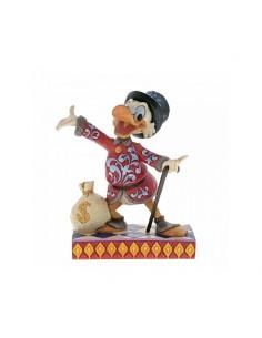 Disney Traditions : Treasure Seeking Tycoon (Scrooge Figurine)