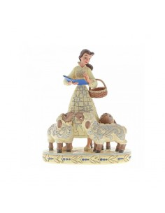 Disney Traditions : Bookish Beauty (Belle with Sheep Figurine)