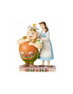 Disney Traditions : Devoted Daughter (Belle and Maurice Figurine)