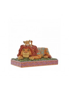 Disney Traditions : A Father's Pride (Simba & Mufasa Figurine)
