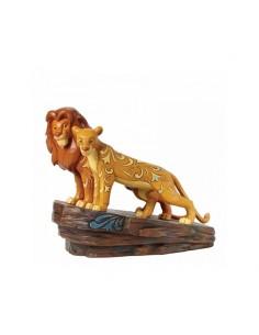 Disney Traditions : Love at Pride Rock (Simba and Nala Figurine)