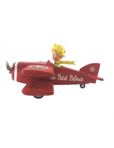 The Little Prince by plane
