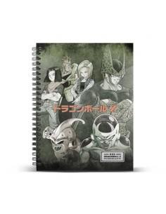 DRAGON BALL Cuaderno A4 Evil