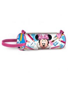 MINNIE INFANTIL Portatodo Cilindrico School Disney
