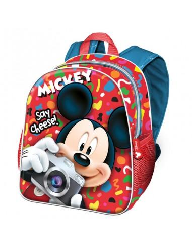 MICKEY INFANTIL Mochila Infantil Say Cheese Disney