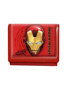 IRON MAN Billetero Velcro Armour