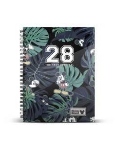 """CLASSIC MICKEY Cuaderno R A4 """"28"""" Disney"""