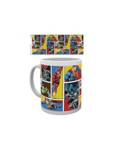 Taza DC Comics Justice League Grid