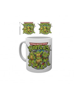 Taza Tortugas Ninja Retro - Teenage Mutant Ninja Turtles