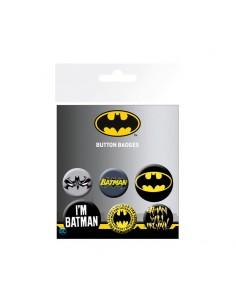 Set de 6 chapas DC Comics - Batman