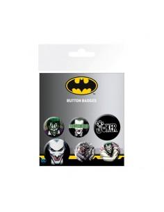 Set de 6 chapas DC Comics - Joker