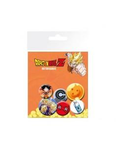 Set de 6 chapas Dragon Ball Mix
