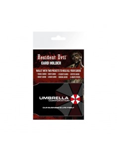 Tarjetero Resident Evil Logo Umbrella