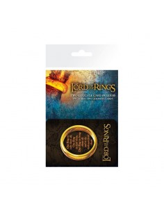 Pack de 2 portaequipajes Lord of the Rings - Anillo Único - One Ring