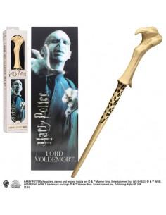 Harry Potter - Varita Mágica de Lord Voldemort con marcapáginas 3D
