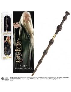 Harry Potter - Varita Mágica de Albus Dumbledore con marcapáginas 3D