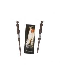 Harry Potter Set Punto de libro ( marcapáginas) y Boligrafo Dumbledore