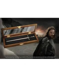El Señor de los Anillos Abrecartas - Anduril Espada del Rey Elessar