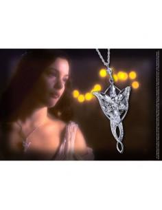 El Señor de los Anillos - Colgante de Arwen Evenstar (Plata de ley)
