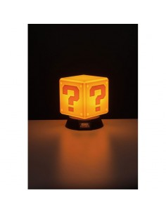 Nintendo - Super Mario lámpara 3D Question Block