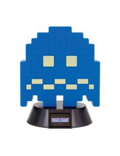 Pac-Man -  lámpara 3D Icon Turn To Blue Ghost