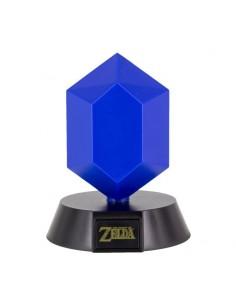 Nintendo - The Legend of Zelda Bros lámpara 3D Icon Blue Rupee