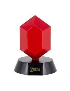 Nintendo - The Legend of Zelda - lámpara 3D Icon Red Rupee