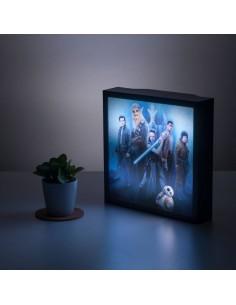 Star Wars - Episode VIII lámpara 3D Characters