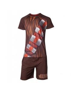 Pijama Chewbacca Star Wars - Hombre TALLA CAMISETA S