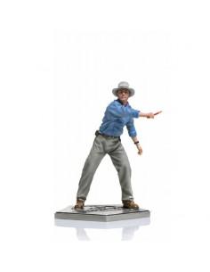 Alan Grant Parque Jurásico Estatua 1/10 Art Scale