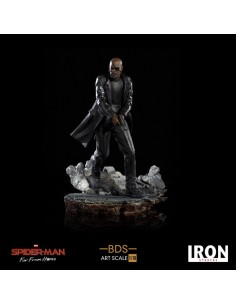 Nick Fury Spider-Man: Lejos de casa Estatua BDS Art Scale Deluxe