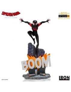 Miles Morales Spider-Man: Un nuevo universo Estatua BDS Art Scale Deluxe 1/10