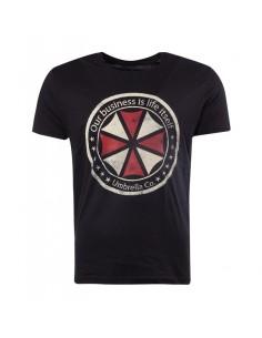 Camiseta Resident Evil Logo - Hombre TALLA CAMISETA L