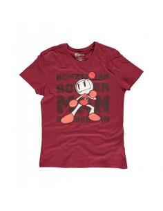 Camiseta Bomberman Tonal Bomb Konami - Hombre TALLA CAMISETA XL