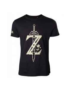 Camiseta The Legend of Zelda Big Logo Z - Hombre TALLA CAMISETA M