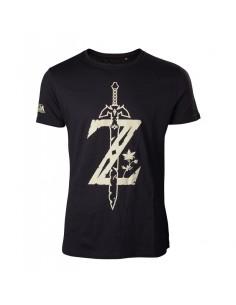 Camiseta The Legend of Zelda Big Logo Z - Hombre TALLA CAMISETA L