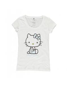 Camiseta Hello Kitty  - Mujer TALLA CAMISETA S