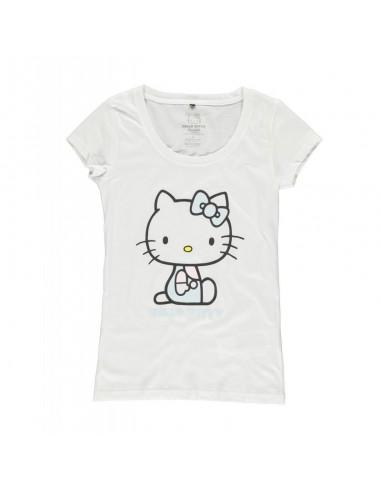 Camiseta Hello Kitty  - Mujer TALLA CAMISETA L
