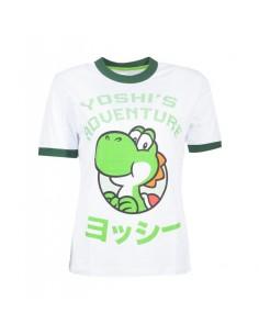 Camiseta Chica Yoshi's Adventure Nintendo TALLA CAMISETA M