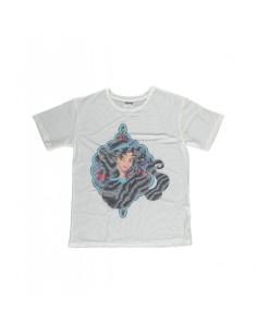 Camiseta Princesa Jasmine Sublimation Mesh - Mujer TALLA CAMISETA L