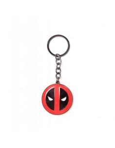 Llavero de metal Deadpool Logo Marvel