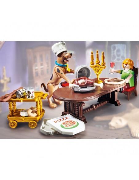 SCOOBY-DOO Cena con Shaggy - Playmobil