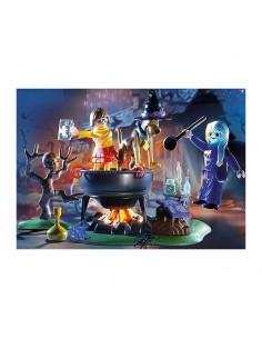 SCOOBY-DOO Aventura en el Caldero de la Bruja - Playmobil