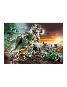 Ataque del T-Rex - Playmobil