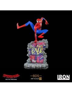 Peter B. Parker Spider-Man: Un nuevo universo Estatua BDS Art Scale Deluxe 1/10