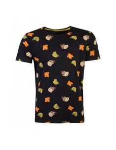 Nintendo - Super Mario DK AOP Men's T-shirt TALLA CAMISETA XL