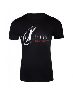FOX - X-files - Logo Men's T-shirt TALLA CAMISETA XL