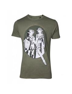 Zelda - Link & Princess Zelda T-shirt TALLA CAMISETA S