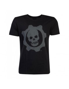 Gears Of War Camiseta Skull Badge TALLA CAMISETA S