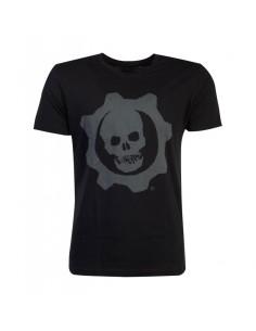 Gears Of War Camiseta Skull Badge TALLA CAMISETA L